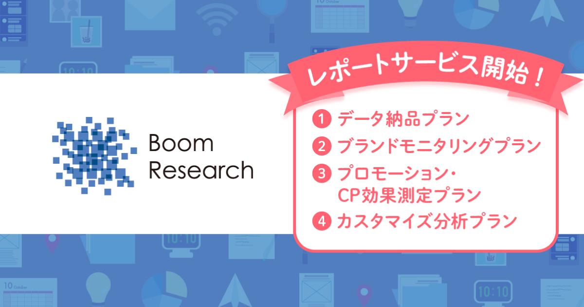 株式会社トライバルメディアハウスが、ソーシャルリスニングツール「Boom Research」を使ったクチコミ分析レポートサービスの提供を開始